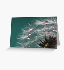 Dandelion Umbrellas Greeting Card