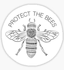 Protect the Bees  Sticker