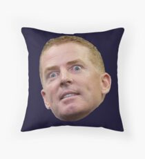 Jason Garrett Head Throw Pillow
