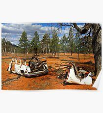 Australian Outback at Cobar Poster