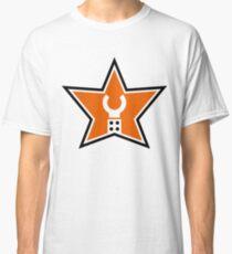 Customize My Minifig Star Logo Design Classic T-Shirt