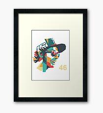 vr 46 Framed Print