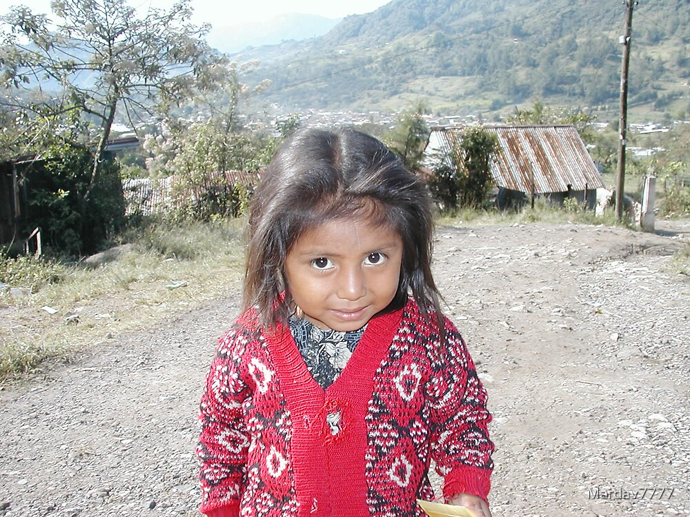 Guatemalan child by Mardav7777