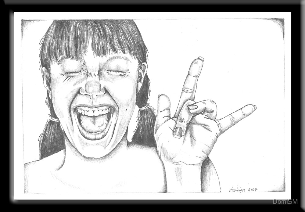 Perky in Pencil by DomiSM