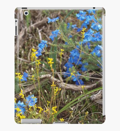 Lechenaultia and Branch iPad Case/Skin