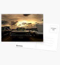 car show Postcards