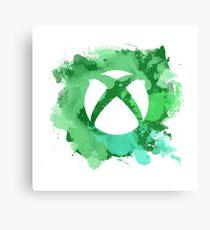 Xbox watercolor Canvas Print