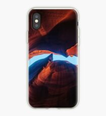 Sandstein abstrakte Texturen in Antelope Canyon iPhone-Hülle & Cover