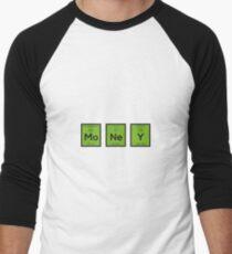 Money Chemical Element Funny R3z08 Men's Baseball ¾ T-Shirt