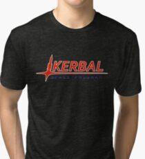 Camiseta de tejido mixto Kerbal Space Proram