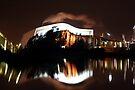 Boeing building abstract 2 by Lumière Unique |  Unique Light
