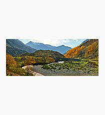 Drive through the Highland Beauty Photographic Print