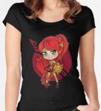 RWBY - Pyrrha Chibi Women's Fitted Scoop T-Shirt