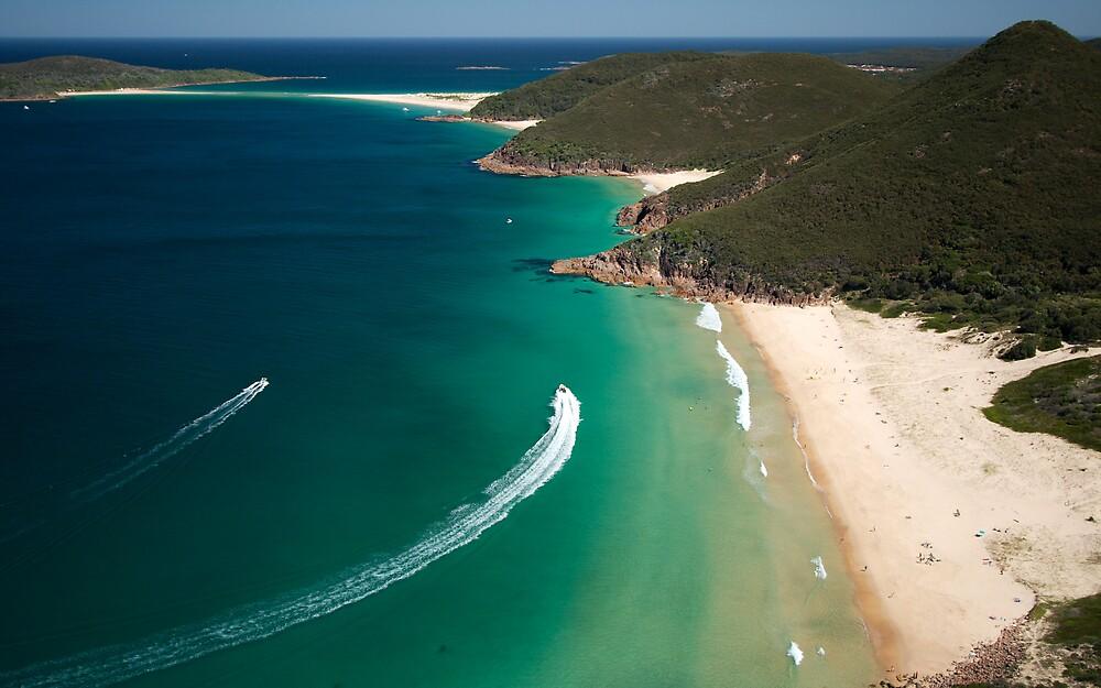 Zenith Beach - Port Stephens by PsiberTek