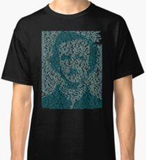 Edgar Allen Poe - The Raven Poem Retro T Shirt Classic T-Shirt
