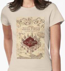 brown map T-Shirt