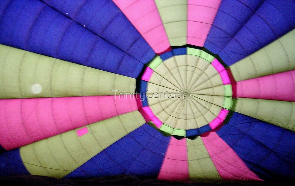 inside hot weather balloon by TrinityCentaur