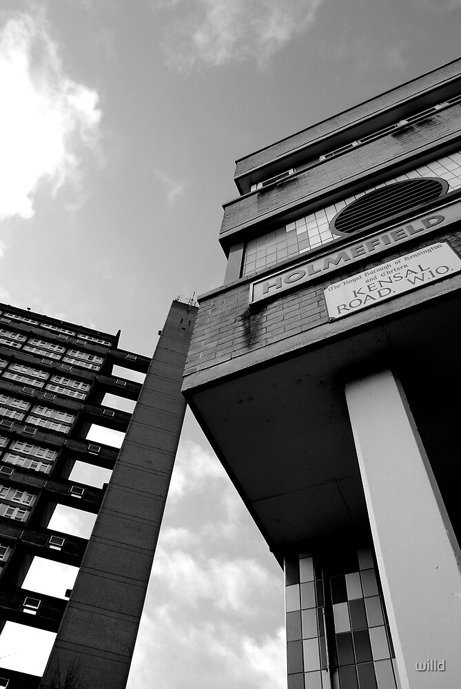 trellick tower 2 by willd