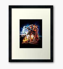 Back to the Future III Framed Print