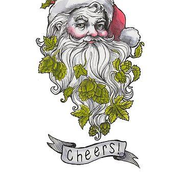 Craft Beer Santa - Cheers! by sarawilson