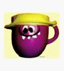 Goofy Grape Photographic Print