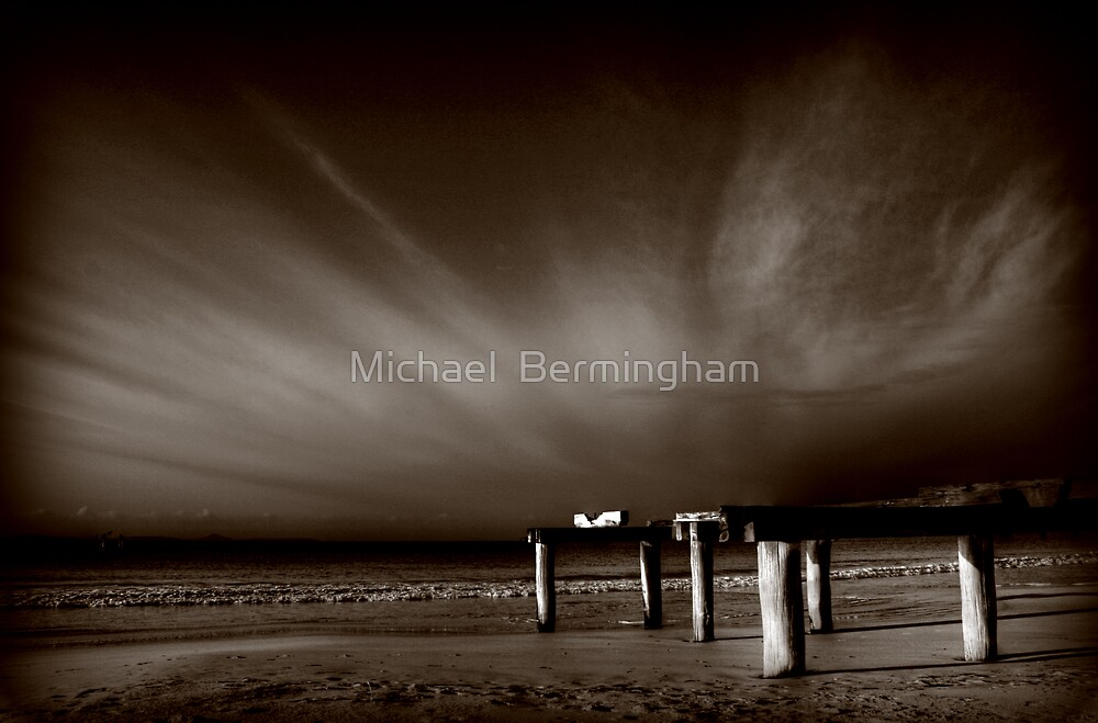 What once was... colour by Michael  Bermingham