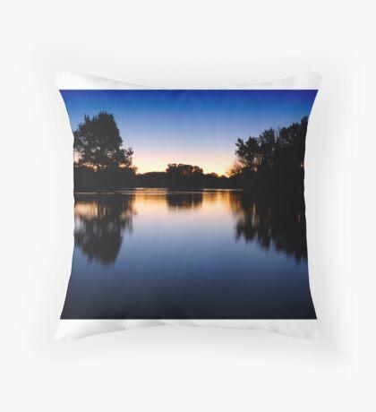 Lake Burley Griffin Sunset Throw Pillow
