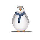 Sherlock The Penguin by Syac Studio