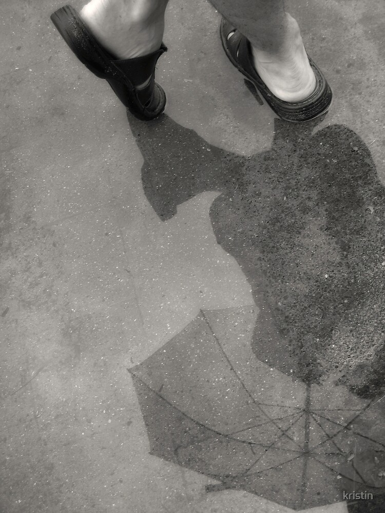 puddle reflection by kristin