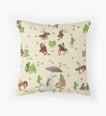COWBOYS & ALIENS Throw Pillow