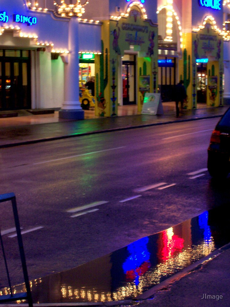 Light on the Puddle by JImage