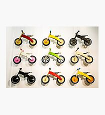 Kids' Bikes Photographic Print