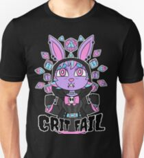 CRIT FAIL Unisex T-Shirt