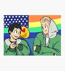 Scomiche in The Green Jacket Photographic Print