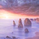 The Twelve Apostles - Australia by Steven  Sandner