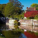 Lock cottage by Steve plowman