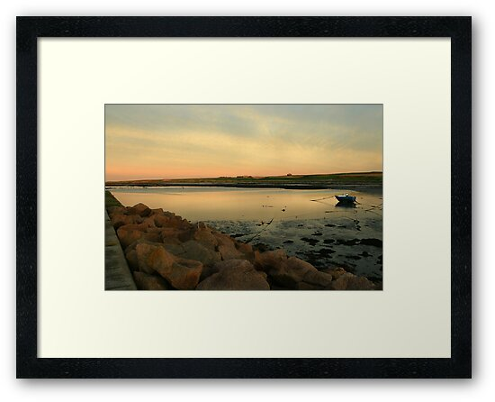 relaxe in sunset by Suzanne Forbes-Murray