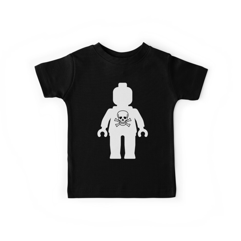 Minifig with Skull  by Customize My Minifig