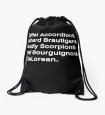 Digital Accordion Drawstring Bag