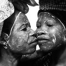mozambican women by Tom  Cockrem