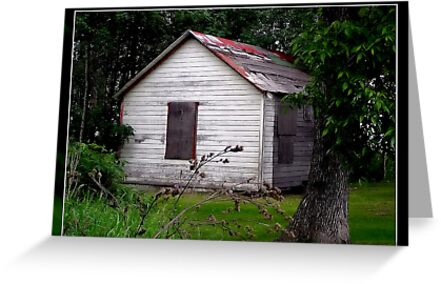 old house by Cheryl Dunning