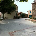 Place in Grimaud, France by Robert Elfferich