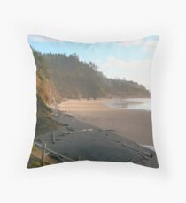 Coastal Light Throw Pillow