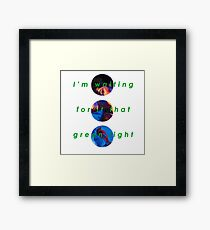 Melodrama Framed Print