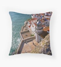 """Light House"" Throw Pillow"