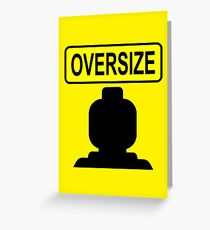 Oversize Minifig Greeting Card