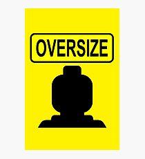 Oversize Minifig Photographic Print