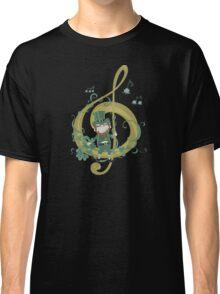 Vintage Leprechaun Making Music - St Patricks Day 2017 Classic T-Shirt