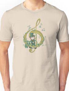 Vintage Leprechaun Making Music - St Patricks Day 2017 Unisex T-Shirt