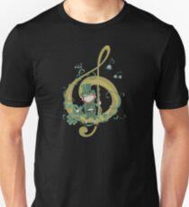Vintage Leprechaun Making Music - St Patricks Day 2017 T-Shirt